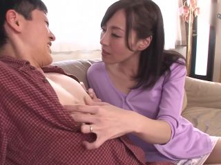 JUY-434 Married Married Wife Kimi Tanihara Who Always Blames My Nipples And Smiles While Erecting