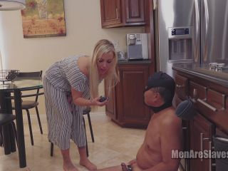 Men Are Slaves: Sorceress Bebe - The Most Pathetic Little Dick - cbt - blonde porn tall girl fetish
