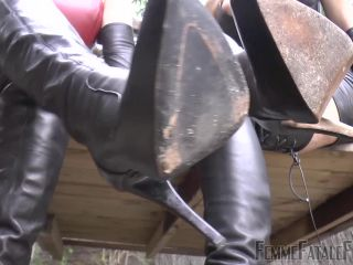 Divine Mistress Heather, Goddess Tangent - Boot Break