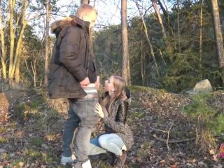 SirenaSweet - Riskanter Outdoor Blowjob  | big7 | amateur porn super amateur