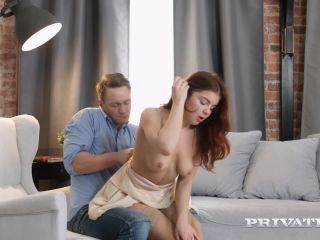Teen Renata Fox Doesn't Stop Until Her Face is Covered in Cum