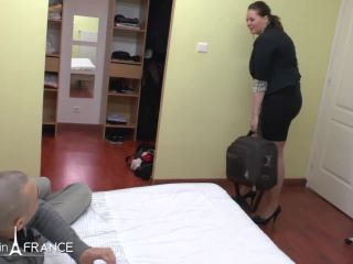 Maeva – Gorgeous Young Bbw Brunette Gets Deepthroat Fucked And Ass Pou …, cami cooper bbw on mature porn