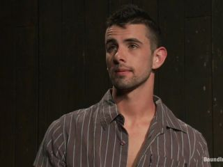 Captured stud is being used in a bar full of horny masked men!!!