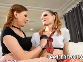 Jamie French, Nikki Venus - Jamie French Fucks With Nikki Venus [HD 720p]   anal   shemale porn anal hardcore squirting