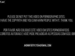 Sexy Ebony – Footjob Video – Jhonn – Womens Feet – Black Devil!!!
