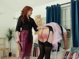 maserati femdom toys | The English Mansion: Governess Elizabeth - Maid Turned Slut Part 3 | strapon