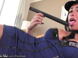 ts cop gets her ass fucked raw