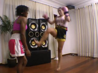 mf video brazil: boxing and mixed fight by paula gonsalvez and slave priscilinha