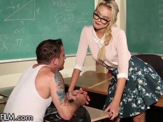 dirty teacher gets spanked hard for being a bad girl