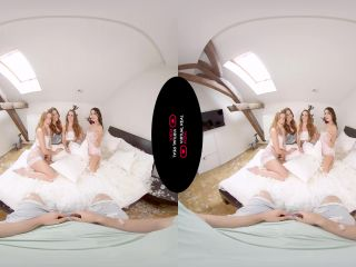VirtualRealPorn  Pillow Fight Charlie Red, Alexis Crystal, Eveline Dellai, Katy Rose OculusGo/GearVR