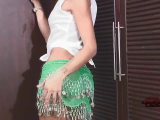 Online shemale video Poope Strokes Her Cock