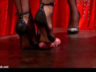 Training A New Goddess To Crush Cum – Cock Crushing Shoejobs!!!