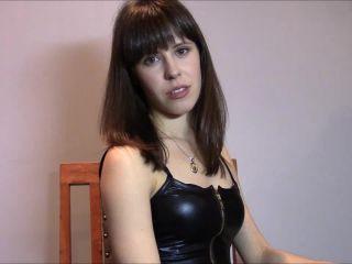 blowjob fetish Miss Melissa – Locked Up It's Mine Now, video on femdom porn