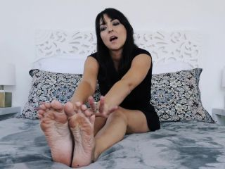 Toes – Stella Liberty – Your Wife Doesn't Need to Know - toes pointing - femdom porn severe femdom