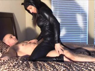 angela white femdom Forced Ejaculation – Sexual Alexis – Catwoman dry hump, handjob and milking on feet