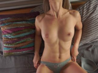 Gorgeous tiny fitness girl fucked by a horny stud - cum on abs _ LacyLuxxx