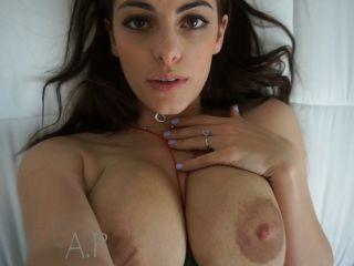 Alexa Sucks Fan POV Cum Shot On Tits 1080p – Miss Alexa Pearl, closed cumshot blowjob on pov