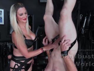 Mistress Nikki Whiplash - Ballbusting Training Day (BB1464) - BallbustingWorld (FullHD 2020)