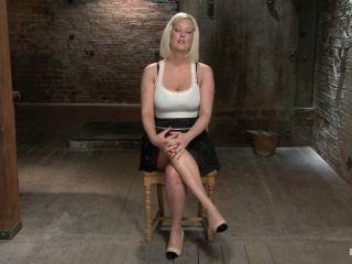 femdom footjob blonde porn | Blonde with Big Natural Breasts - RODE HARD | sybian