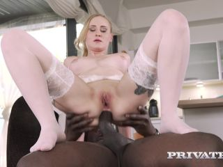 interracial - Private presents Helena Valentine in Debuts With Interracial Anal – 10.07.2018