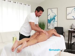BLOND IS TRICKED INTO SEX BY HORNY MASSAGE THERAPIST
