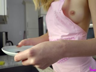 teen | Haley Reed - Nude StepDaughter on Kitchen  | haley reed