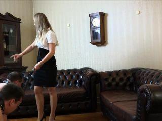 maid fetish Testing new slaves by whipping, fetish on fetish porn