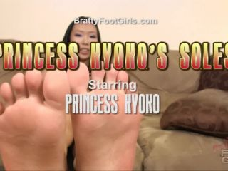 Kyoko asian feet and soles