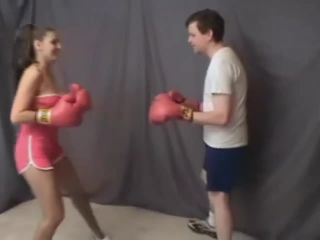 Sexy mixed ballting and boxing