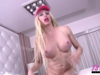 [TsPov] Tara Emory - Slutty Blonde Bimbo Worships The Cock (11.03.2018)