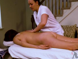Sexy massage with anal and squirting