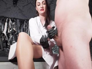 GERMAN FEMDOM - Lady Victoria Valente - Dr Valente Specialist in impotence - Handjob, gts fetish on femdom porn