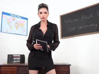 DDFNetwork - 1By-Day presents Krystal Webb in XXX Immersion With Horny British Teacher - , pov on brunette girls porn