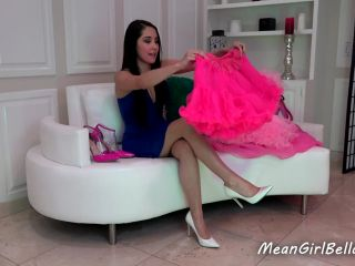 The Mean Girls - Princess Bella - Style Tips For Sissy Whores (1080 HD) - jerk off instruction - femdom porn femdom butt plug