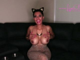 livecleo fully trained house kitty blowjob 4 milk,  on milf porn