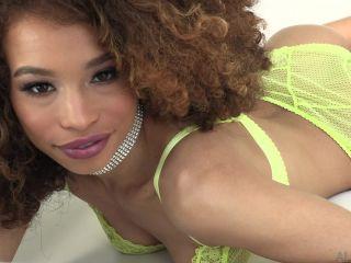 Stunning ebony beauty Cecilia Lion