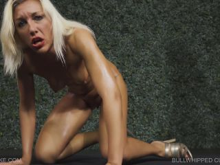 bdsm show Holly - Bullwhipped Cunt , bullwhip on lesbian