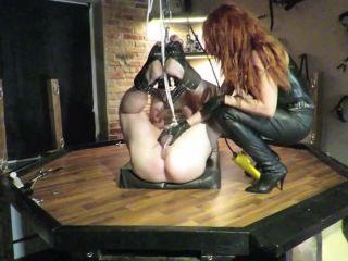 Danish Femdom - Post orgasm torture!!!
