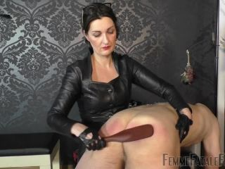 Smoking – Femme Fatale Films – Used & Milked Dry – Part 3 – Lady Victoria Valente, femdom mistress on role play