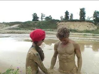 Porn Latex mud 1
