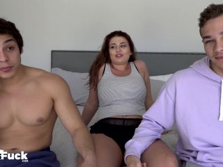 Jacob Booker Jayden Marcos And Angelina Colon  - threesome - threesome