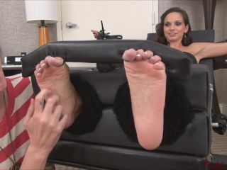 Online video bdsm tickle abuse: ashley sinclair toetied