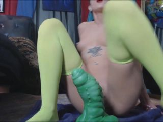 MoxiMinx – Birthday Bad Dragon - dragon dildo - toys anal pov hd