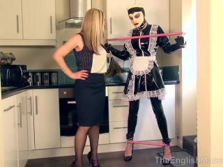Tethered Sissy Maid