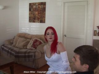 Firm Hand Spanking – Alison Miller – Costume Correction – A | firmhandspanking | fetish porn sexy feet fetish