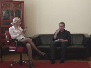 femdom lady femdom porn | THE STRICT OFFICE | pain
