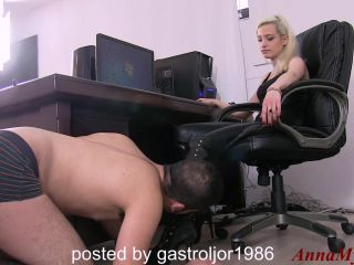Boot Licking – Anna Myst – Boot worship