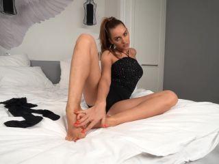 Stockings Footjob Kristina Sweet