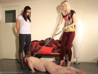 Female Domination in Boots, Smother, Feet Licking, Spanking