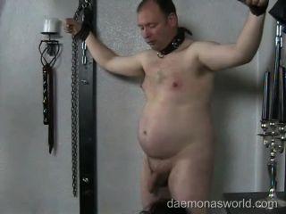 I KICK YOUR BALLS, FAT SLAVE!, livejasmin fetish on femdom porn